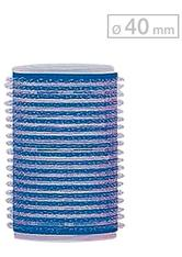 Efalock Professional Friseurbedarf Lockenwickler 13 mm - 48 mm Durchmesser Haftwickler Klein Durchmesser 40 mm, Blau 12 Stk.