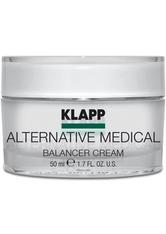 KLAPP - Klapp Alternative Medical Balancer Cream 50 ml Gesichtscreme - TAGESPFLEGE