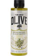 KORRES Olive & Olive Blossom Showergel - KORRES