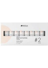 Indola Innova Root Activating Lotion Packung mit 8 x 7 ml