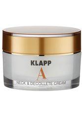 KLAPP - KLAPP A CLASSIC Neck & Décolleté Cream -  50 ml - TAGESPFLEGE