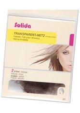 SOLIDA - Solida Transparent-Haubennetze - Dunkel, Pro Packung 2 Stück - TOOLS