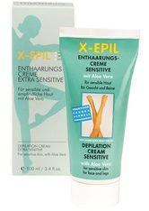 X-Epil Enthaarungscreme Sensitive - Tube 100 ml - X-EPIL