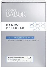 BABOR - DOCTOR BABOR Hydro Cellular 3D Hydro Gel Eye Pads - Pro Packung 4 Paare - AUGENMASKEN