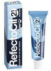 REFECTOCIL - RefectoCil Augenbrauen- und Wimpernfarbe Tiefblau, für tiefblaue Färbung, Inhalt 15 ml - AUGENBRAUEN