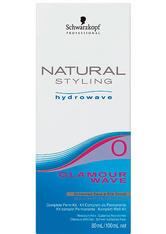SCHWARZKOPF - Schwarzkopf Natural Styling Hydrowave Glamour Wave Set 0 - für schwer wellbares, gesundes Haar, 1 Portions-Set - LEAVE-IN PFLEGE
