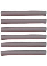Efalock Professional Friseurbedarf Lockenwickler Flex-Wickler Länge 180 mm Durchmesser 19 mm, Grau 6 Stk.