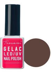 Trosani GeLac LED/UV Nail Polish Darkside Brown (25), 10 ml