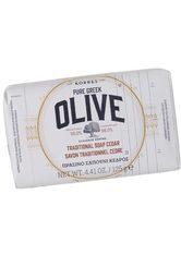 KORRES Olive & Cedar Soap -  125 ml - KORRES