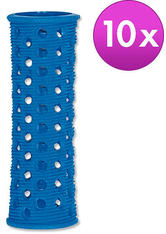 Efalock Original-Griffig-Haarwickler Blau, Ø 20 mm, Pro Packung 10 Stück