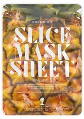 KOCOSTAR - Kocostar Slice Mask Sheet Pineapple - TUCHMASKEN