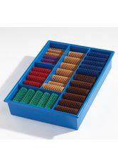 Basler Lockenwickler Sortimentskasten - Kasten blau mit 60 Wicklern - BASLER