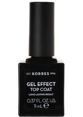 KORRES - KORRES Sweet Almond Nail Colour Top Coat - NAGELLACK