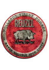 REUZEL - Reuzel Pomade Red Water Soluble High Sheen - HAARWACHS & POMADE