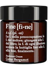 FINE - FINE Deodorant Cedar Bergamot -  30 g - DEODORANT