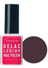 Trosani GeLac LED/UV Nail Polish Aubergine Shadow (27), 10 ml