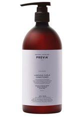 PREVIA Organic Borage Glycerides Luscious Curls Conditioner -  1 Liter - PREVIA
