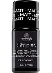 ALESSANDRO - alessandro Striplac Top Coat Matt -  8 ml - BASE & TOP COAT