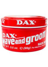 DAX - Dax Haare Haarstyling Wave and Groom Hair Dress 99 g - HAARWACHS & POMADE