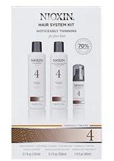 NIOXIN Hair System Kit - 4 - feines, chemisch behandeltes Haar - sichtbar abnehmende Haardichte - NIOXIN