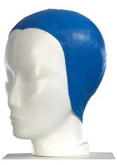 Strähnenhaube - Blau -