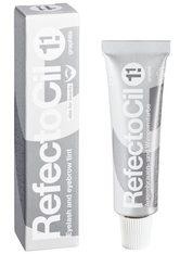 RefectoCil Augenauen- und Wimpernfarbe - Graphit, für graue Färbung, Inhalt 15 ml - REFECTOCIL