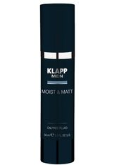 KLAPP - KLAPP MEN Moist & Matt - Oilfree Fluid -  50 ml - GESICHTSPFLEGE