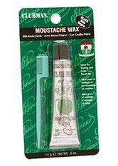 CLUBMAN PINAUD - Clubman Pinaud Moustache Wax Hang Pack - Schwarz, 14 g - BARTPFLEGE