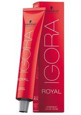 Schwarzkopf Professional Haarfarben Igora Royal Permanent Color Creme 0-22 Anti Orange Konzentrat 60 ml
