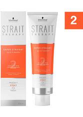 Schwarzkopf Strait Styling Therapy Strait Cream 2 - für gefärbtes und poröses Haar, 300 ml