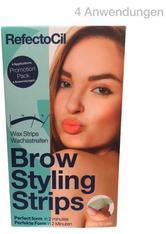 RefectoCil Brow Styling Strips Für 4 Anwendungen, Pro Packung 8 Stück