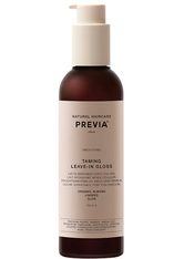 PREVIA - PREVIA Almond & Organic Linseed Oil Taming Leave-In Gloss -  200 ml - LEAVE-IN PFLEGE