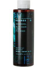 KORRES Blue Sage / Lime / Fir Wood Showergel - KORRES