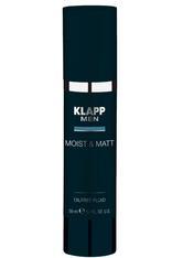 Klapp Men Moist & Matt - Oilfree Fluid 50 ml Gesichtsfluid