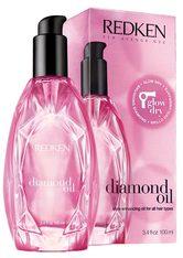 REDKEN - Redken diamond oil Glow Dry -  100 ml - HAARÖL