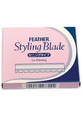 FEATHER - Feather TH Effilierklingen - Pro Packung 10 Stück - HAARSCHNEIDER & TRIMMER