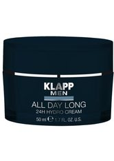 KLAPP - KLAPP MEN All Day Long - 24H Hydro Cream -  50 ml - TAGESPFLEGE