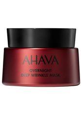 AHAVA APPLE OF SODOM Overnight Deep Wrinkle Mask - AHAVA