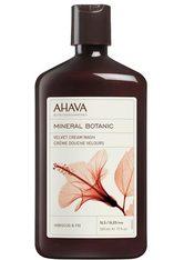 Ahava Mineral Botanic Cream Wash Hibiscus-Feige 500 ml - Duschen - AHAVA