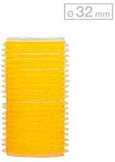 Efalock Professional Friseurbedarf Lockenwickler 13 mm - 48 mm Durchmesser Haftwickler Klein Durchmesser 32 mm, Gelb 12 Stk.