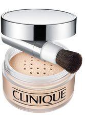 CLINIQUE - Clinique Blended Gesichtspuder und Pinsel 35g - Transparency 2 - GESICHTSPUDER