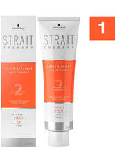 Schwarzkopf Strait Styling Therapy Strait Cream 1 - für normales unbehandeltes, bis leicht poröses Haar, 300 ml
