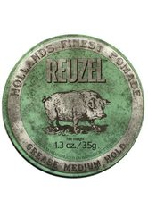 REUZEL - Reuzel Pomade Green Grease Medium Hold - HAARWACHS & POMADE