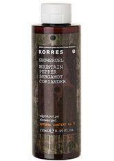 KORRES Mountain Pepper / Bergamot / Coriander Showergel - KORRES