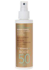 KORRES - KORRES Red Grape Sunscreen Body Emulsion SPF 50 - SONNENCREME