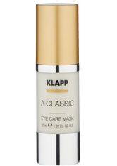 KLAPP - KLAPP A CLASSIC Eye Care Mask -  30 ml - AUGENMASKEN
