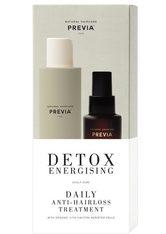 PREVIA - PREVIA Detox Energising Daily Anti-Hairloss Set - GEGEN HAARAUSFALL