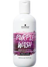 Schwarzkopf Professional Haarshampoo »Bold Color Wash purple«, mit farbintensivierender Wirkung
