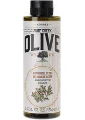KORRES Olive & Cedar Showergel - KORRES