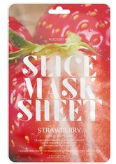 KOCOSTAR - Kocostar Slice Mask Sheet Strawberry - TUCHMASKEN